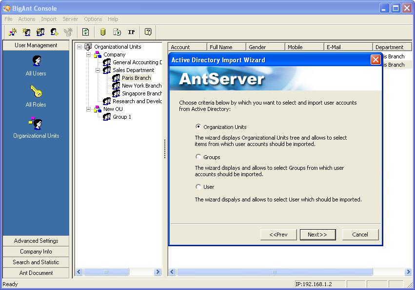 BigAnt IM server, secure instant messaging server