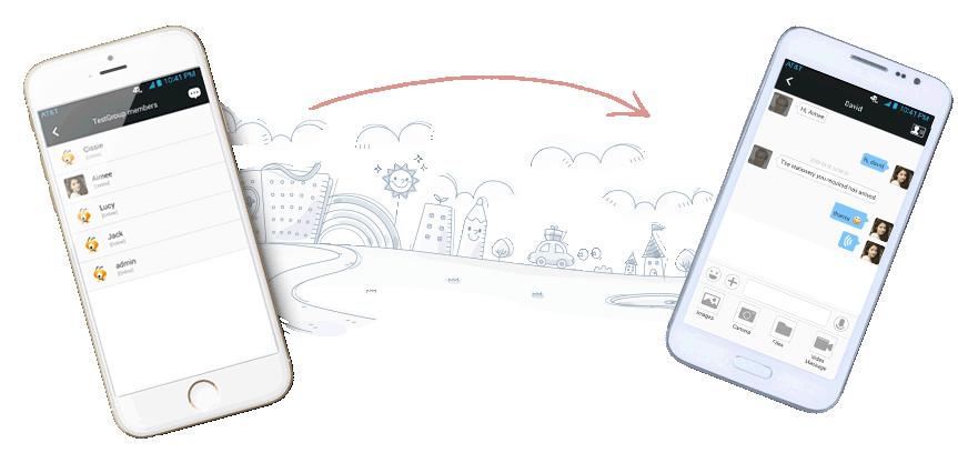 BigAnt Kapalı Devre Mesajlaşma - Android ve IOS