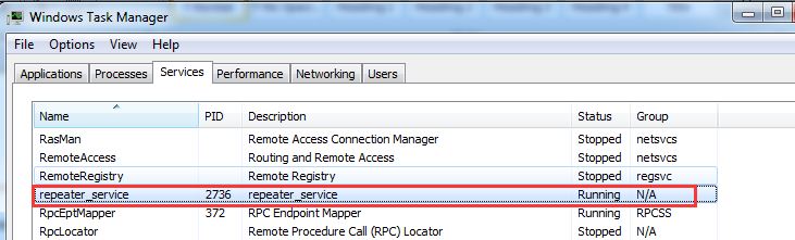 Failed to connect server when using remote access